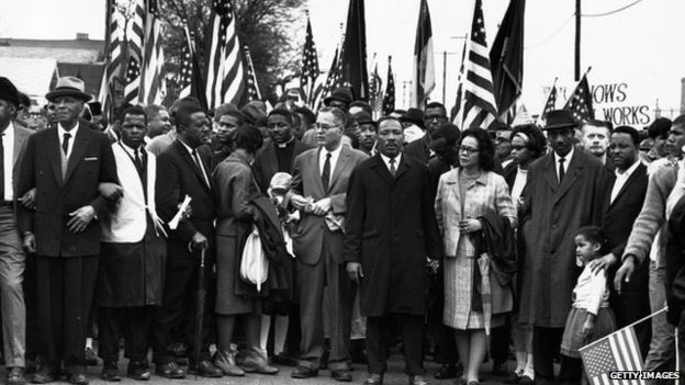 Image result for john lewis with obama on selma march