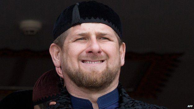 Resultado de imagen para Ramzan Kadyrov