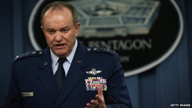 US European Commander Air Force Gen Philip Breedlove