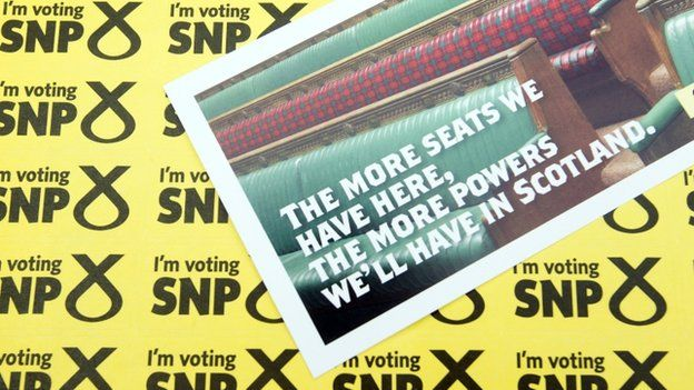 SNP election material