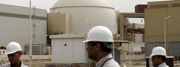 Bushehr nuclear power station in Iran, 25 February 2009