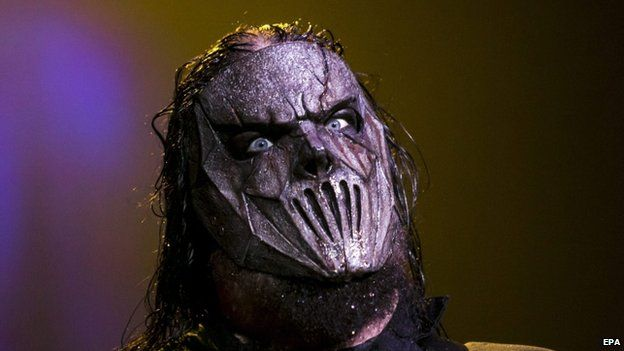 Slipknot's Mick Thomson