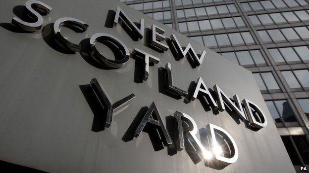 Scotland Yard sign