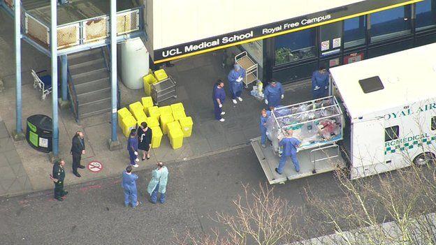 Hospital arrival