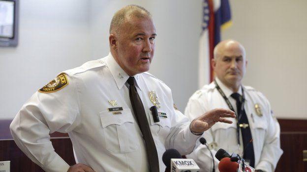 Chief Jon Belmar 12 March 2015