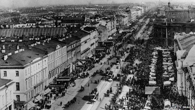 St Petersburg in 1900
