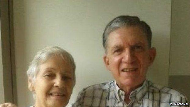 Rodolfo Gonzalez (right) and his wife Josefa