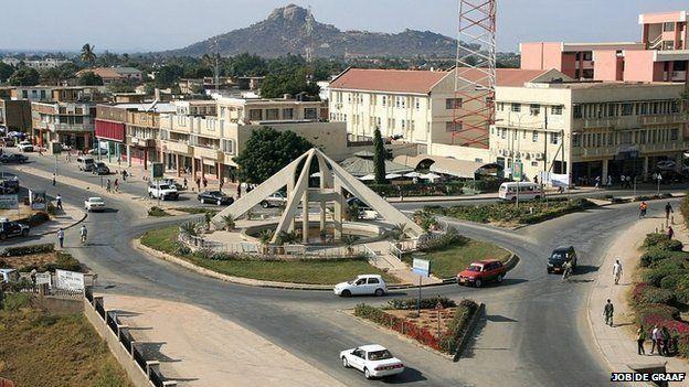 Dodoma town centre