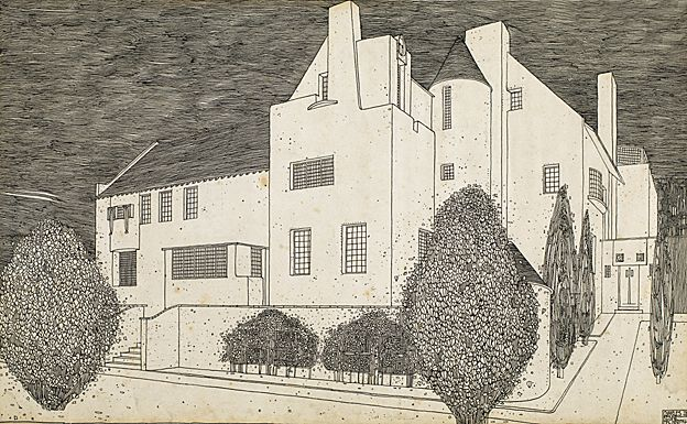 Mackintosh design for the Hill House