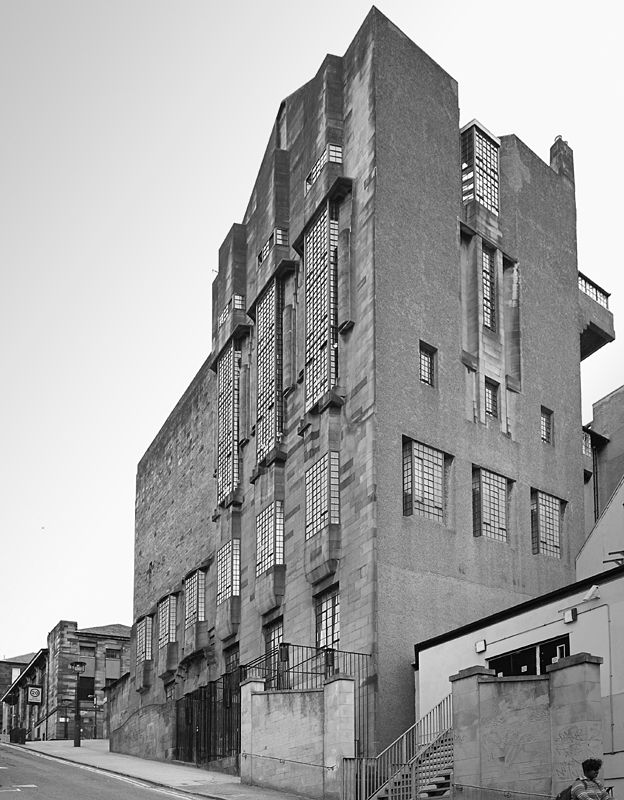 Archive image of the Glasgow School of Art