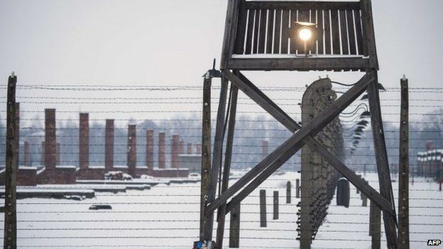 Watchtower at Auschwitz