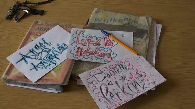 letters hand written by kenyan boys