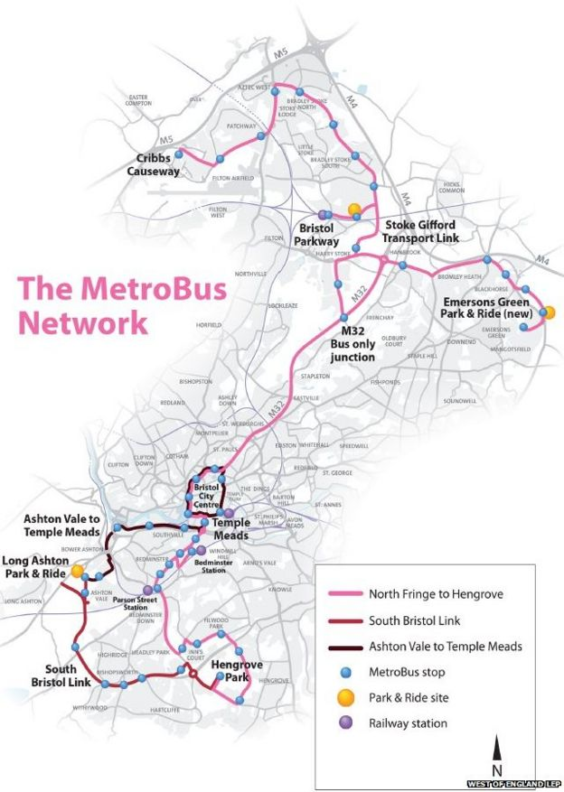 MetroBus final route work approved for Bristol - BBC News