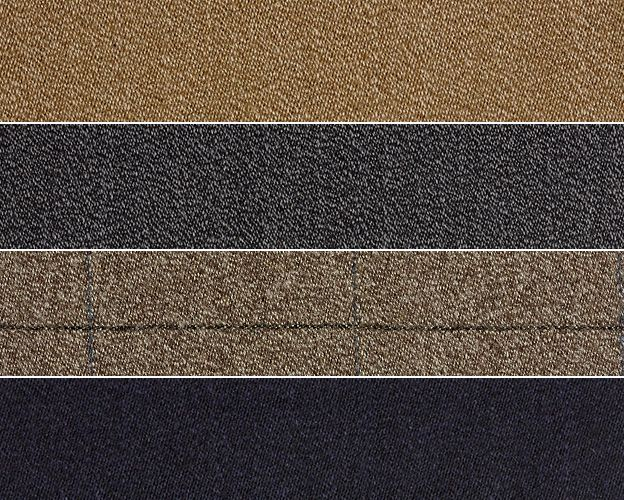 Covert coat cloth samples, by Fox Brothers