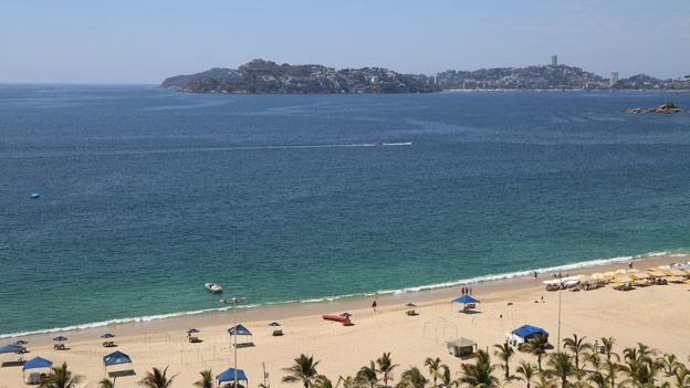 A view of Acapulco in March 2015