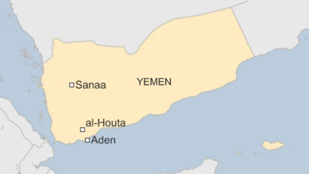 Yemen Crisis US Troops Withdraw From Air Base BBC News - Us embassy in yemen map