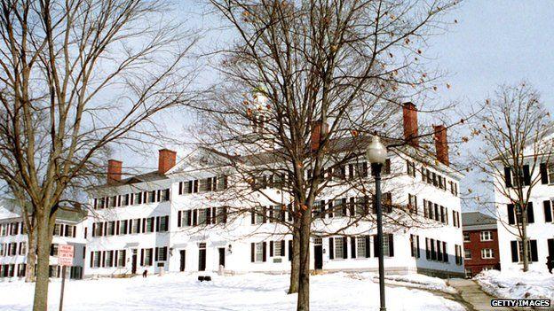 Dartmouth College, New Hampshire, 2001