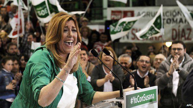 PSOE Andalusia leader Susana Diaz