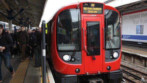 New train District Line