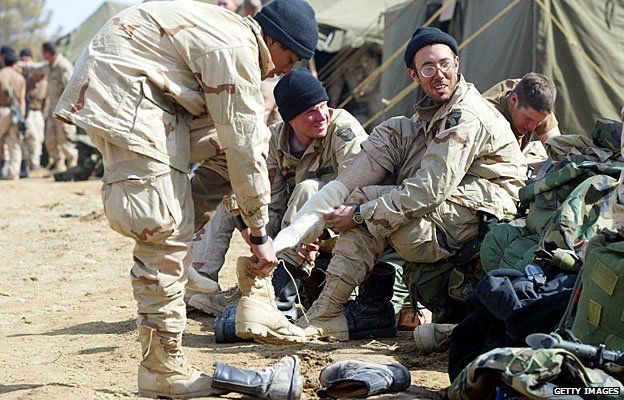 US soldiers needed equipment