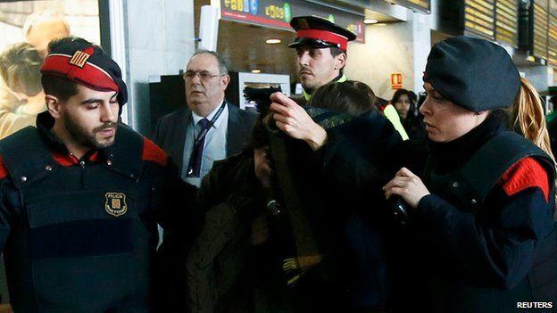 Family members of passengers from Germanwings Flight
