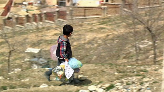 Millions of Afghans still live on a dollar a day