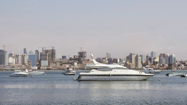 Luanda sea front