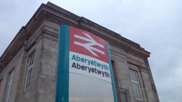 Arwydd Aberystwyth