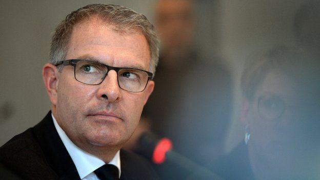 Carsten Spohr, Chairman of German airline Lufthansa