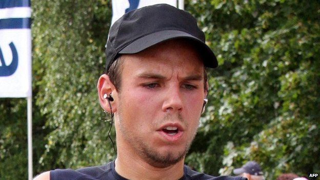 Germanwings co-pilot Andreas Lubitz (file photo from 2009)