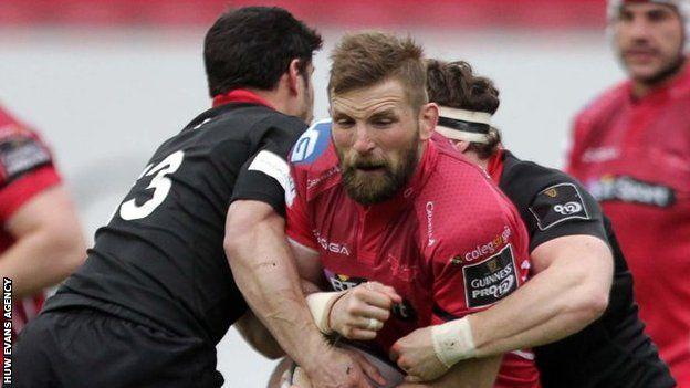 John Barclay takes on Edinburgh