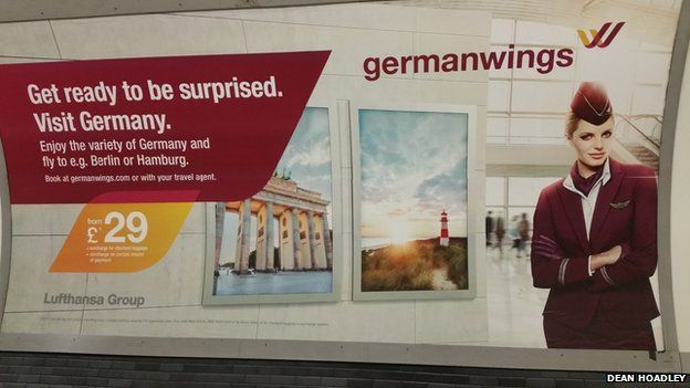Germanwings poster