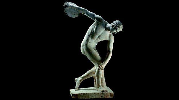 Advise Greek male nude statues suggest