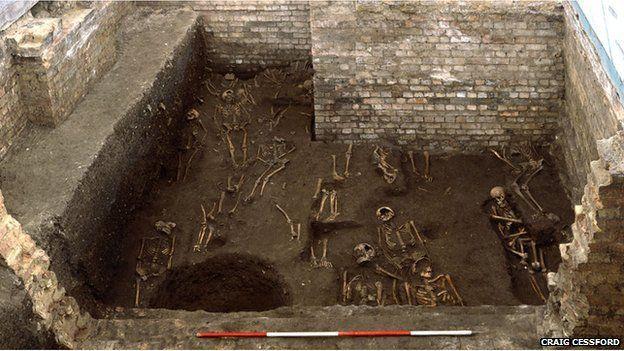 Bones found under St John's College