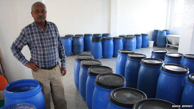 Hailu Tessema, founder of Mama Fresh