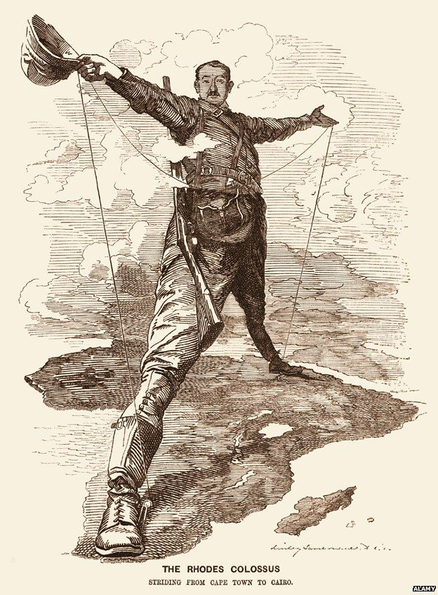 Cecil Rhodes cartoon
