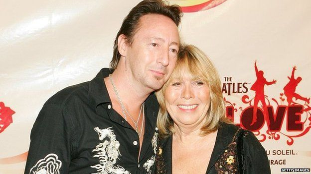 Julian and Cynthia Lennon