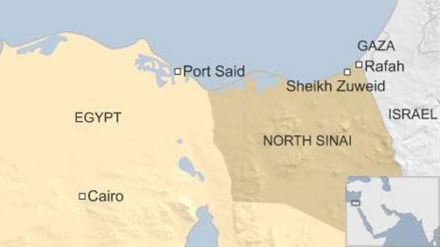 Egypt: Sinai peninsula attack kills 17 - BBC News