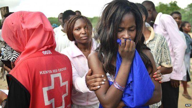 Students at Garissa