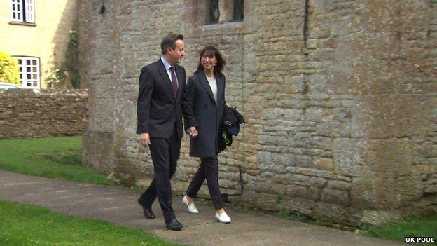David and Samantha Cameron Easter 2015