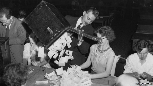 Election count 1959