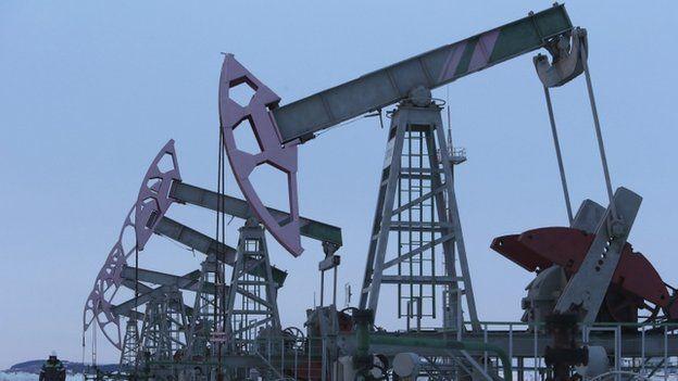 Russian oil field
