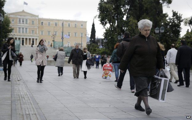 Greece played its Russia card   Now what? - BBC News