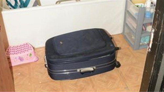 Claudia Martins trial: Newborn girl was found in this suitcase