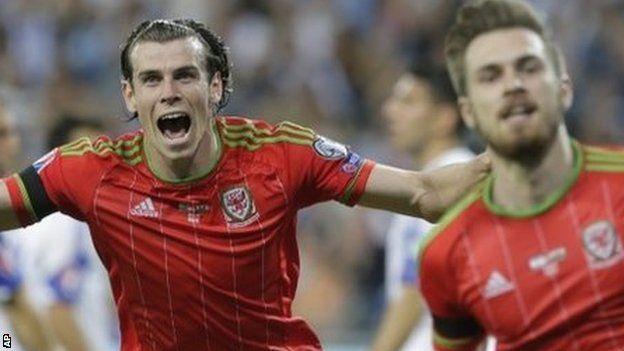 Garth Bale ac Aaron Ramsey