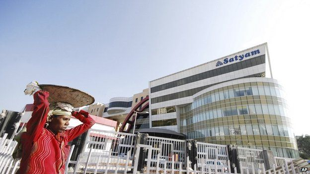 Satyam office in India