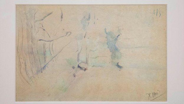 Paul Cezanne sketch