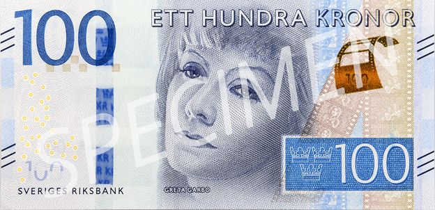 Swedish 100 kronor note