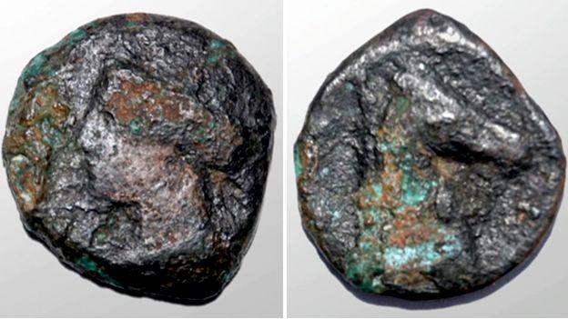 The Carthaginian coin
