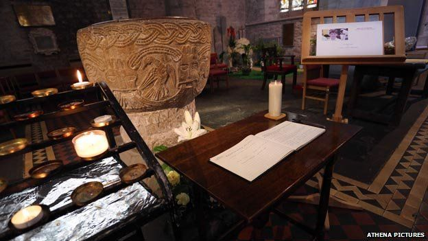 A book of condolence has been opened at Brecon Cathedral